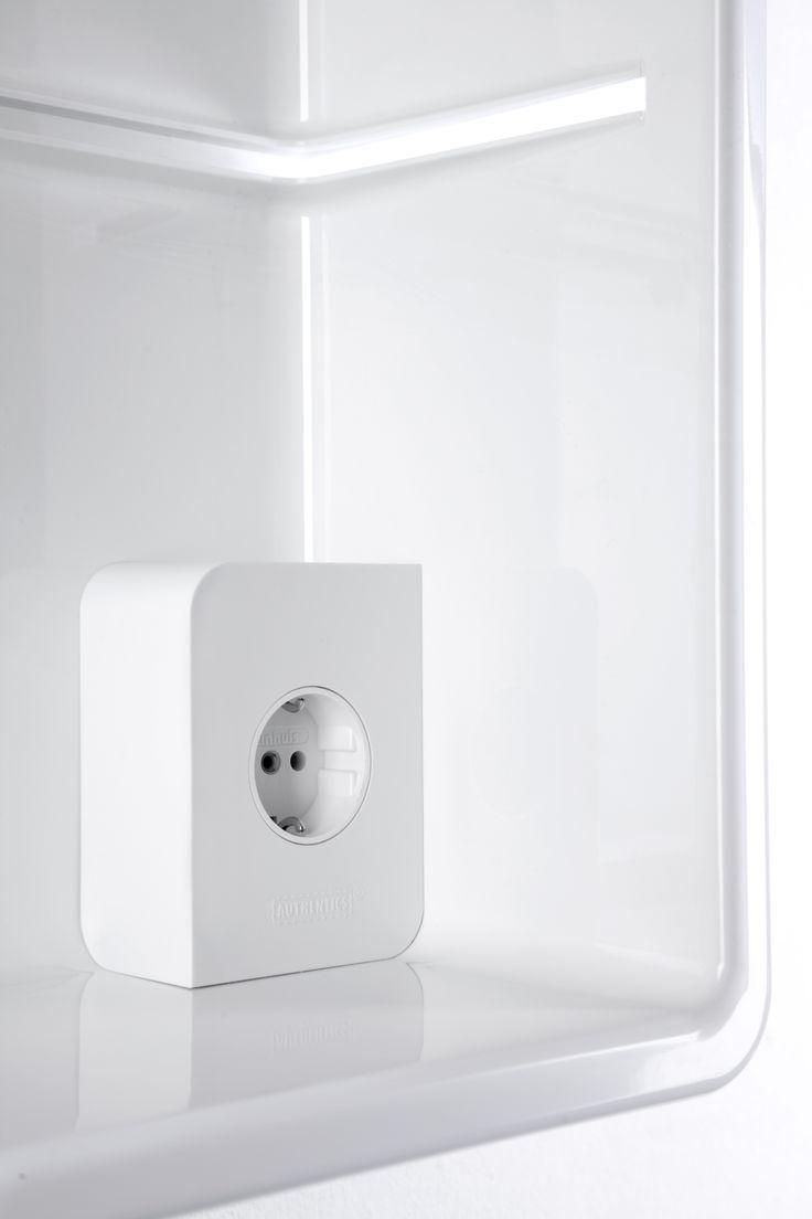 Kali socket box. Distributed by Inbani. #bathroom