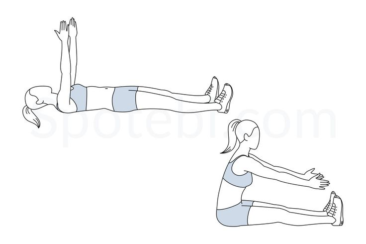 Adding the roll up exercise to your workout routine helps to strengthen your core, stretches the spine and increases your flexibility. This is a classic Pilates exercise and it's known as one of the Pilates flat abs exercises. http://www.spotebi.com/exercise-guide/roll-up/