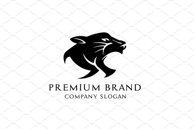 Premium Panther Logo Vector/Mock-Up
