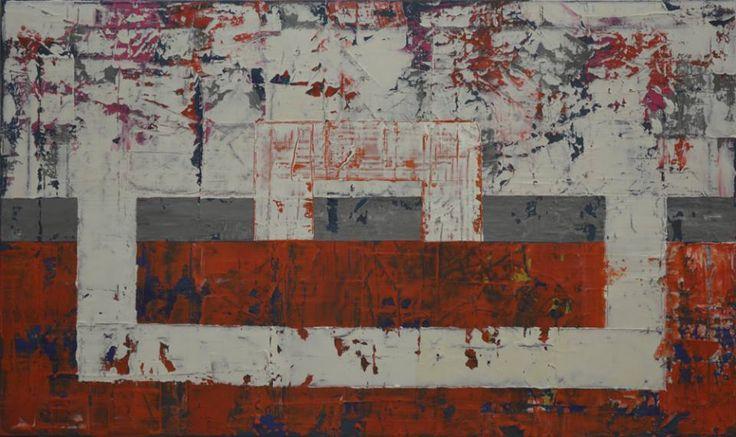 120x60 cm Acryl on canvas,2013