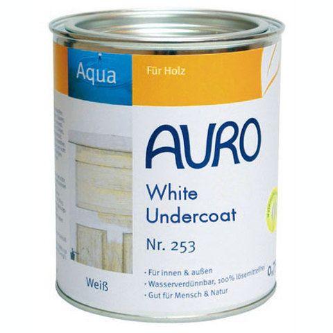 Auro 253 Undercoat - Natural Wood Primer & Gloss Paint Primer