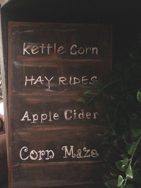fall signage..... Just Add Some Java blogspot