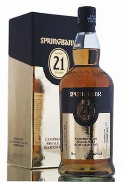 Springbank 21 Year Old / 2013 Release - a whisky worth while