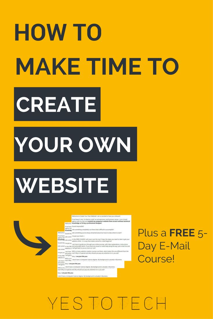 17 best ideas about own website build your own how to make time to create your own website