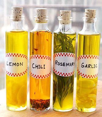 #DIY :How To Make DIY Infused Olive Oils