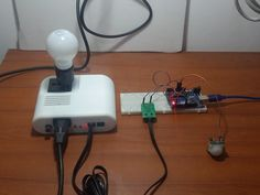 Motion Sensor with Arduino Controlling AC Lamp