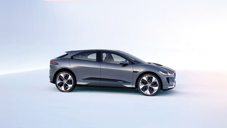 The futuristic Jaguar I-Pace concept CUV is sleek and innovative, yet keeps some of Jaguar's signature characteristics.