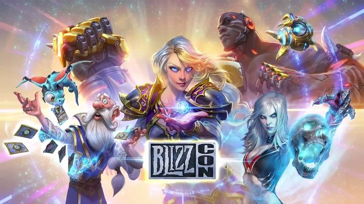 2017 Blizzcon key art has no Starcraft in it (Probius is for Heroes of the Storm) #games #Starcraft #Starcraft2 #SC2 #gamingnews #blizzard