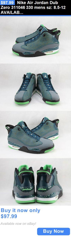 Basketball: Nike Air Jordan Dub Zero 311046 330 Mens Sz: 8.5-12 Available BUY IT NOW ONLY: $97.99
