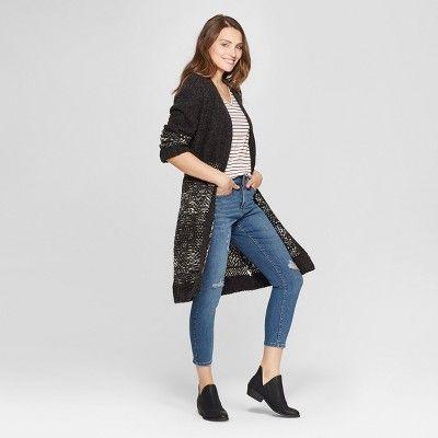 3fa5c3e4ec7 Women s High-Rise Crop Skinny Jeans - Universal Thread Dark Wash 00 ...