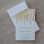 Προσκλητήριο γάμου typostar κωδ. 11290