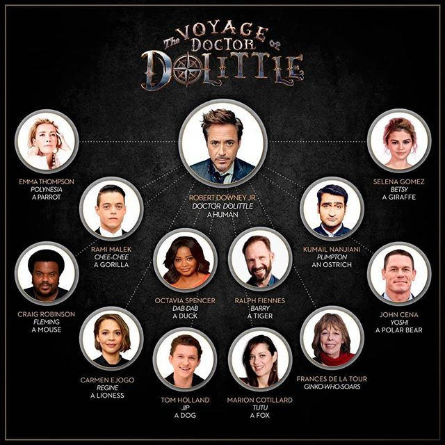 The Trailer For The Voyage Of Doctor Dolittle Movie Starring