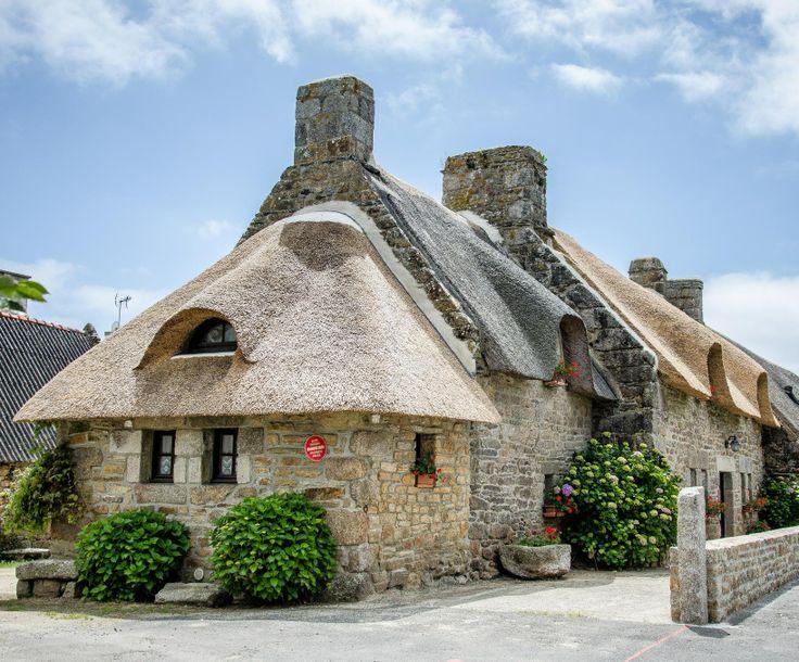 Chaumières de Kerascoët, Névez, Bretagne
