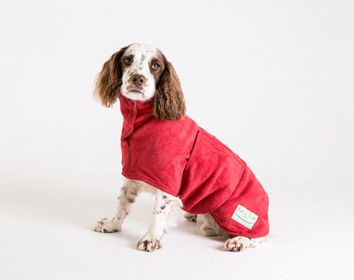 Classic Collection - Ruff and Tumble Dog Drying Coats ® Dog Drying Robes.  Dry your wet muddy dog quickly and efficiently. Ideal for keeping you home and car free from wet/ muddy dog shake off, dog hair and odour. Great for trips to the #beach, #seaside, #camping, #glamping, #caravanning and for staying in dog friendly accommodation.