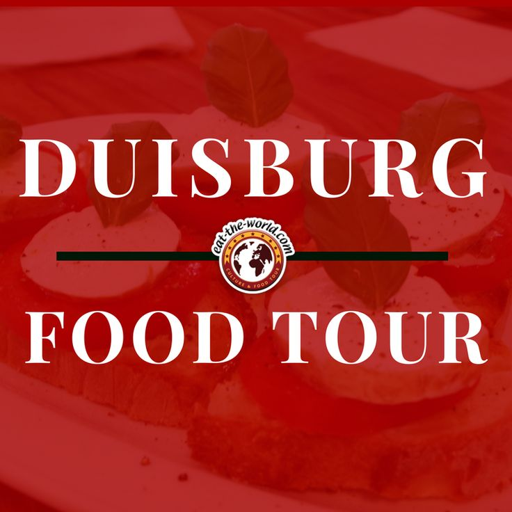 Walking Food Tours in Duisburg   eat-the-world introduces you to the culinary side of Duisburg with a walking food tour! Go off the beaten path and join us on a cultural sightseeing adventure through Duisburg as we show you a behind-the-scenes look at the city! #EatTheWorld #EatTheWorldTour #FoodTour #Germany #Deutschland #Travel #Food #Culture #History #Duisburg