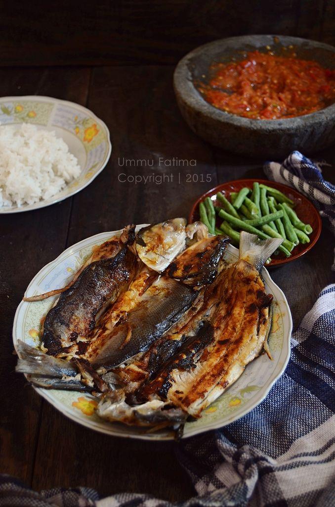 Simply Cooking and Baking...: Bandeng Bakar Tanpa Duri