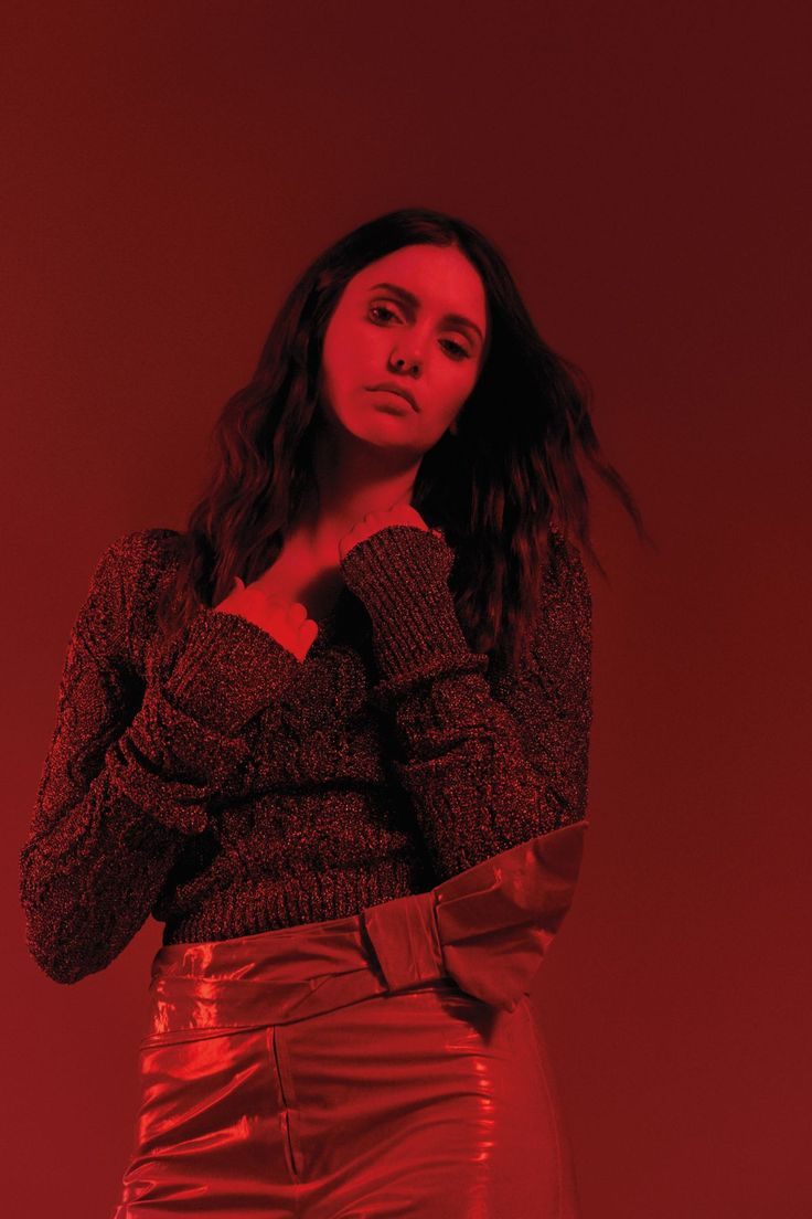 Nina Dobrev At Flaunt Magazine photoshoot