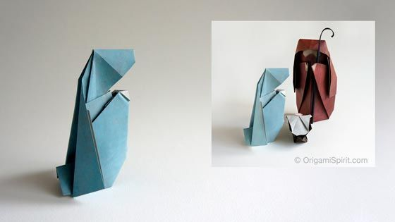 Post image for How to Make an Origami Nativity Scene: Mary –Part 2 of 3