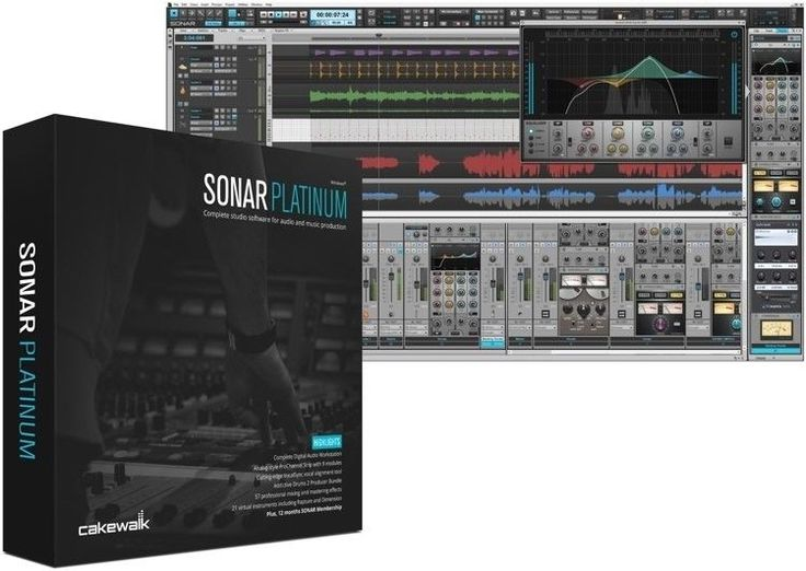 World-class ProChannel mixer modules, award-winning synths, VocalSync vocal alignment, Mix Recall, and much more – combined with the touch-enabled Skylight User Interface's fluid, award-winning workflow – make SONAR Platinum the ideal program to craft your masterpiece.   eBay!