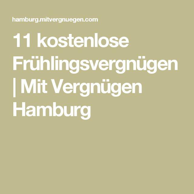 11 kostenlose Frühlingsvergnügen | Mit Vergnügen Hamburg