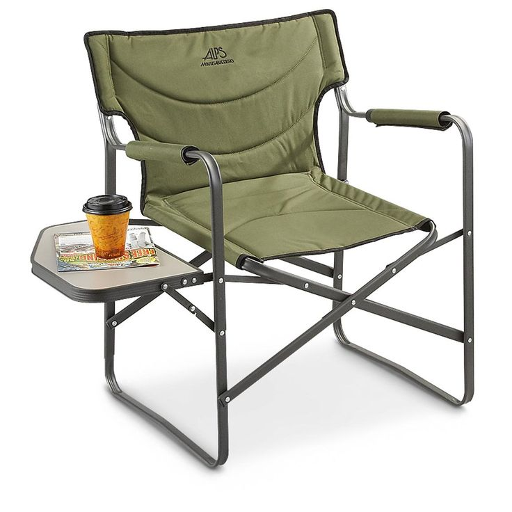 Guide gear heavy duty folding camo camp chair 500 lb for Heavy duty lawn chairs