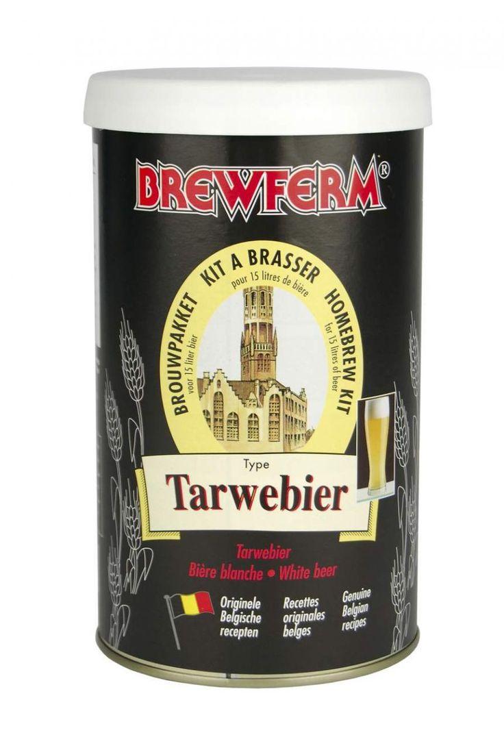 Belçika tipi buğday biralarını seviyorsanız doğru adrestesiniz. Brewferm Buğday Birası (Tarwebier) kitiyle kendi mutfağınızda bu lezzetli birayı en uygun fiyatlarla yapabilirsiniz. Ferahlatıcı tadı ve enfes aromasıyla son derece hafif, susuzluk giderici bir biradır. Buğday birası tariflerine has hafif buğulu bir görüntü ve bol köpük içerir.  Başlangıç yoğunluğu (OG) : 1.052.  Alkol oranı : %5 . 15 litre için. Menşei: Belçika #beer #brewferm #bira #buğdaybirası #Tarwebier