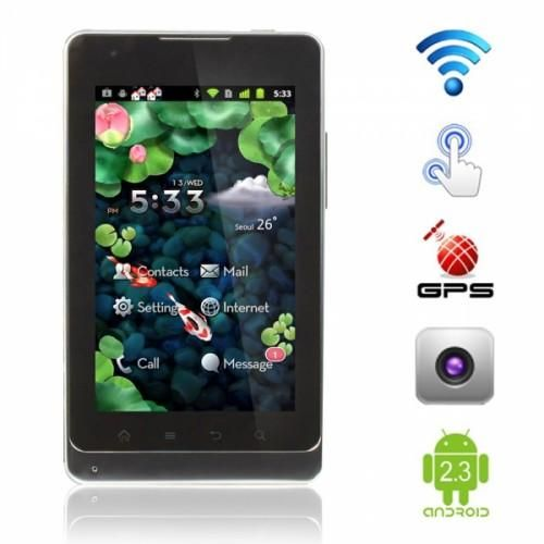 5.0 Black Android Touch Screen Phone.