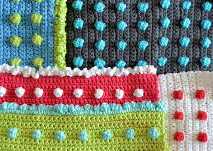 Crochet Dots - Tutorial and Video ❥ 4U hilariafina http://www.pinterest.com/hilariafina/