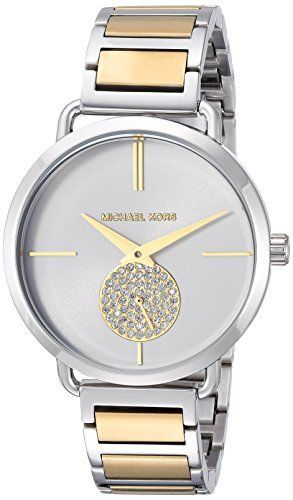 abfb68249587d Michael Kors Watch for Women Michael Kors Womens Quartz Stainless Steel  Casual Watch ColorSilverToned Model M