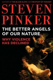 Stephen Pinker, the better angels of our nature -- Reading my #3 book for this year challenge, suggested by Mark Zuckerberg #wow #books