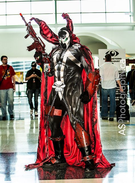 Spawn looks drawn! | C2E2 2013