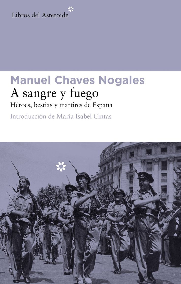 Un repaso a la guerra. A sangro y fuego, de Manuel Chaves Nogales