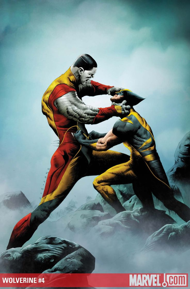 Jae Lee, Wolverine, Colossus