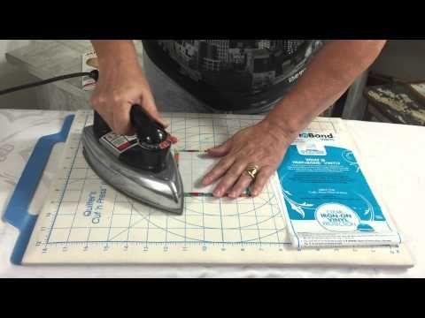 Plastificar tecidos - YouTube