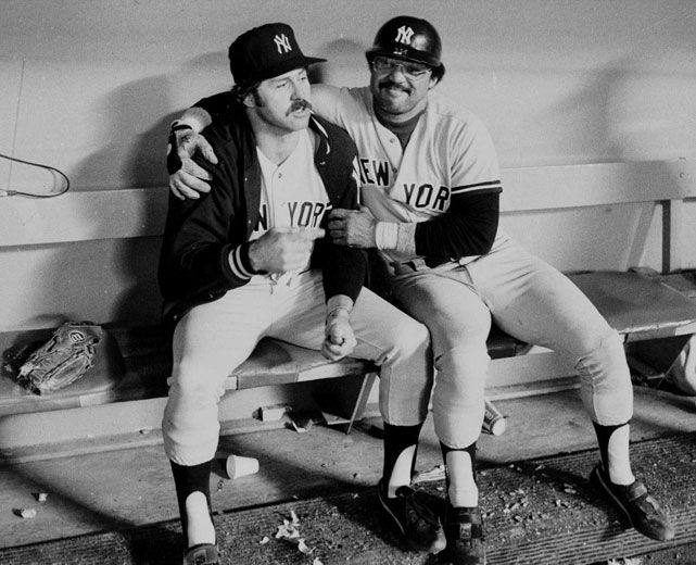 Classic Photos of Reggie Jackson and Catfish