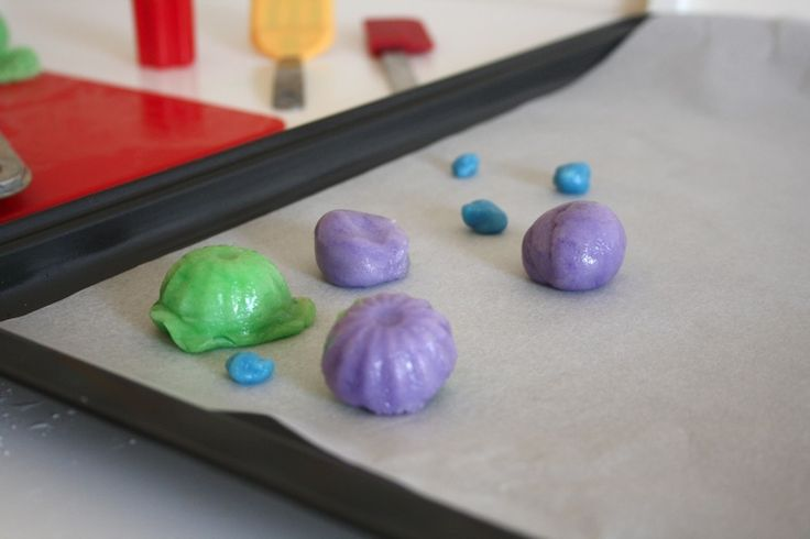 Candy clay with images sugar free kids edible