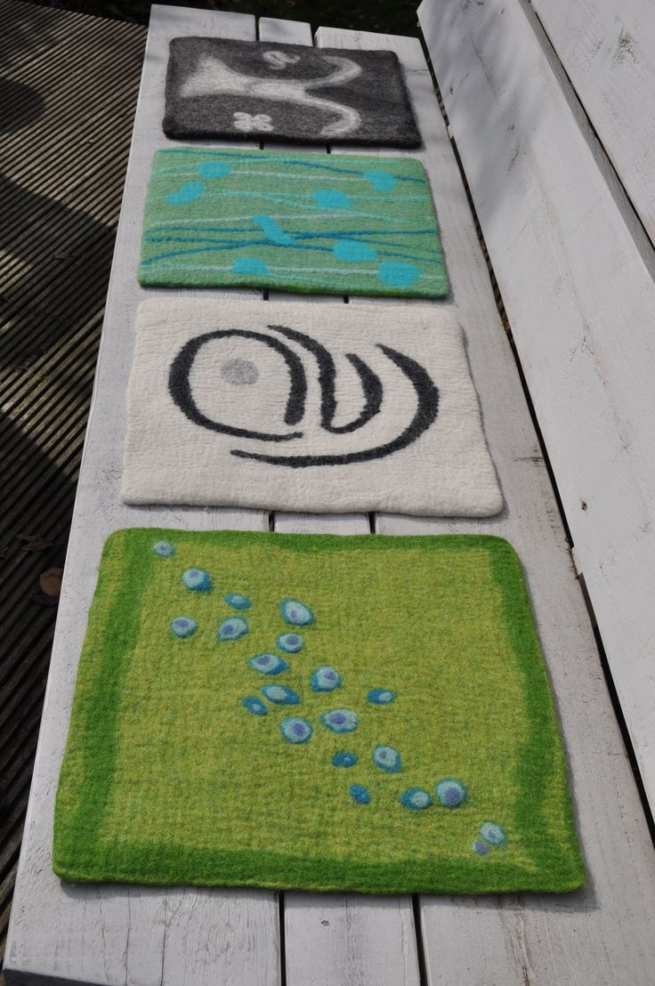 Seat pads - felt by Brit Ro