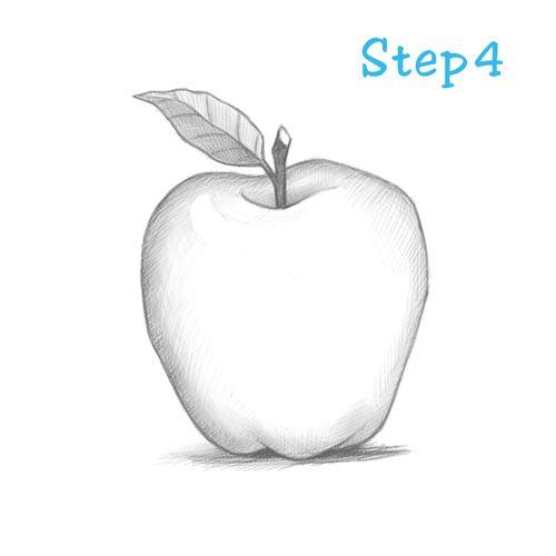 Apple Drawing Lesson « sketch2draw.com