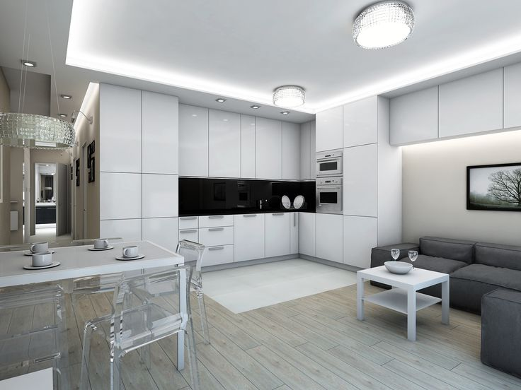 Milenijna str. - kitchen & living room