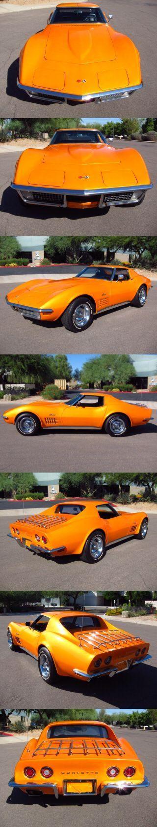 1970 Chevy Corvette #ClassicCars #CTins #Chevy