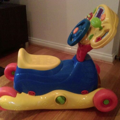 VTECH BABY - GROW AND GO RIDE ON