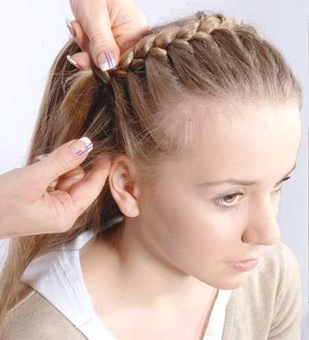 Frisuren fur halblanges haar flechten