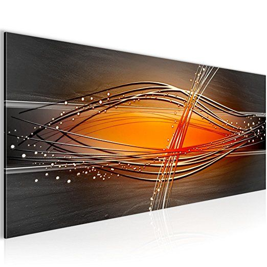 bilder abstrakt wandbild 100 x 40 cm vlies leinwand bild xxl format wandbilder wohnzimmer wohnung deko kunstdruck home geburtstag liebe bilderwand ideen abstrakte malerei künstler acryl kunst
