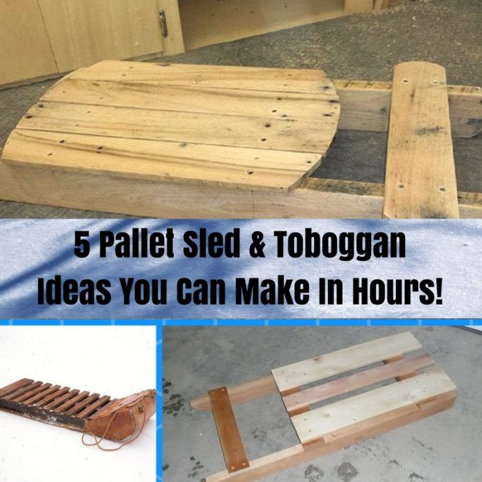 8 Terrific Pallet Sleds You Can Make Quickly 1001 Pallets Wood Pallet Projects Outdoor Pallet Projects Diy Pallet Projects