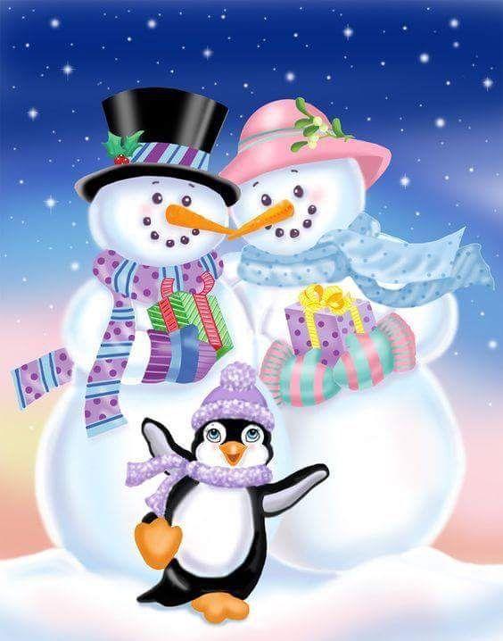 Snowman ️ Snow Woman | Clip | Snowman, Happy saturday ...