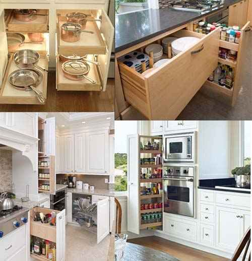 Best Storage Ideas For Kitchens