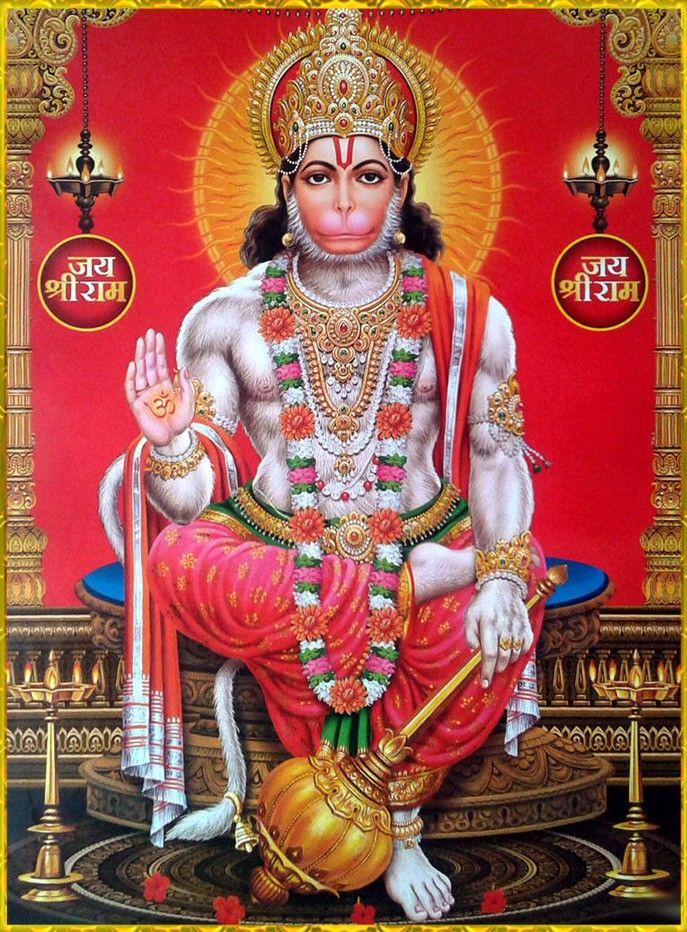 Pin by Sashina Devi on Lord hanuman in 2019 | Hanuman chalisa, Jai