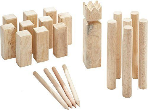 Kubb Game Original  The classic Viking game  Scandinavian outdoor chess ** Read more reviews of the product by visiting the link on the image.