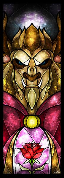 Beauty and the Beast - Beast (by Mandie Manzano)