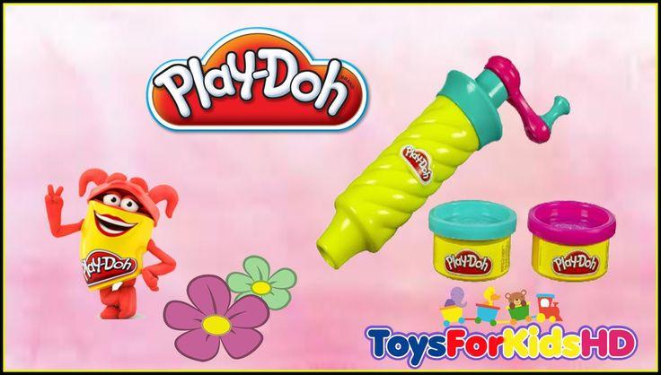 Play Doh Twirl 'n Twister Tourne & tresse Plasti-Espirales Crea trecce -...